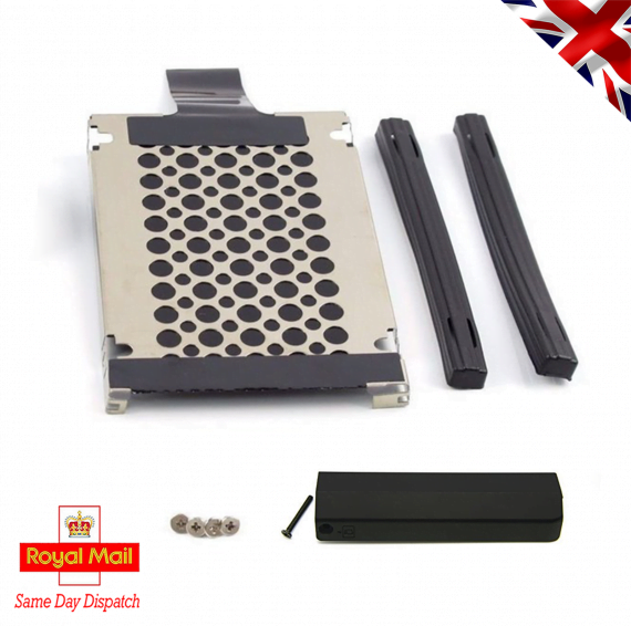 Lenovo Thinkpad T420 9.5 mm HDD Caddy, 2 Rails and Cover Door