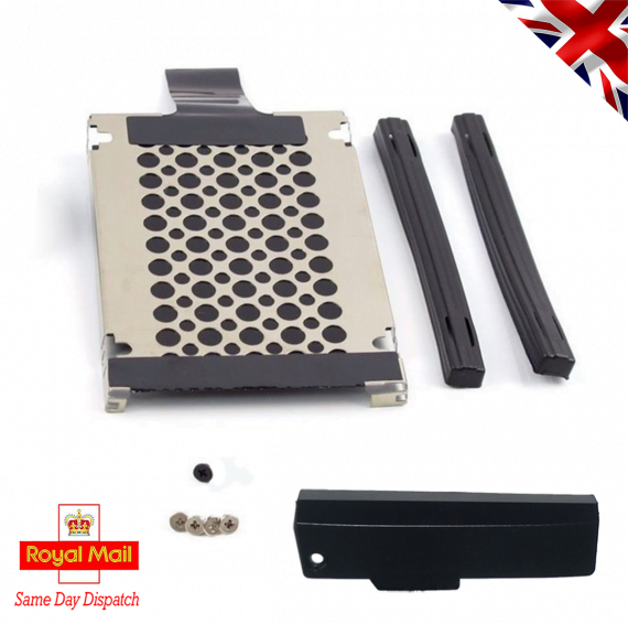 Lenovo Thinkpad T420s   T430s 7 mm HDD Caddy, 2 Rails and Cover Door + Screws