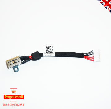 DELL XPS 15 9550 9560 M5510 M5520 DC IN CHARGE JACK CABLE DC30100X200 | 064TM0