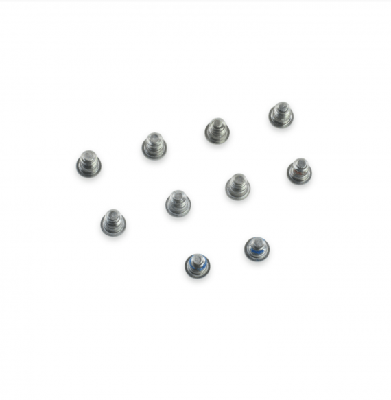Bottom Base Cover Screw 10 Piece Set for MacBook Pro Retina