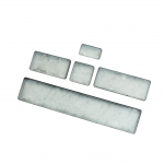 """New UK QWERTY Key Cap Set for MacBook & MacBook Pro, This Cap Set uses the Type """"B"""" AP04 Hinge Assembly Alpha Numeric Hinge Shown for reference, this must match your Cap Hinges to ensure compatibility. 3 Month Warranty"""