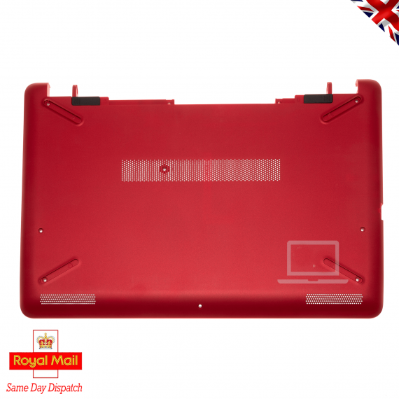 HP 15-BS 15-BW Series Red Base Bottom Cover Chassis without DVD Bay 926295-001