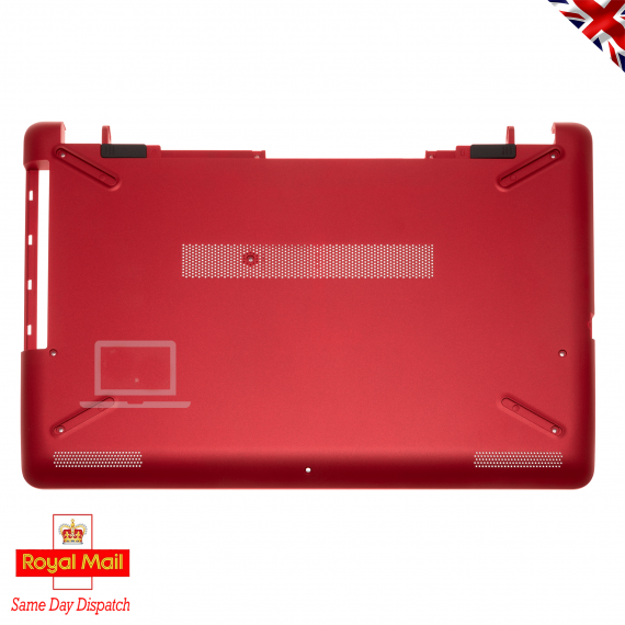 HP 15-BS 15-BW Series Red Base Bottom Cover Chassis with DVD Bay 926913-001